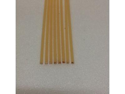 Produtos em Destaque: VARETA QUADRADA EM ABS 2mm X 2mm X 1000 PCT/ 10 UNID MARFIN