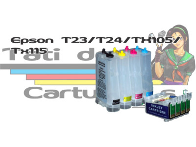 Bulk Ink: Bulk Ink Epson: Bulk Ink Epson T23 / T24 / TX105 / TX115