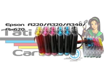 Bulk Ink: Bulk Ink Epson: Bulk Ink Epson R220 / R320/ R340 / RX620